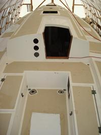 Cape Dory 36 deck refinishing
